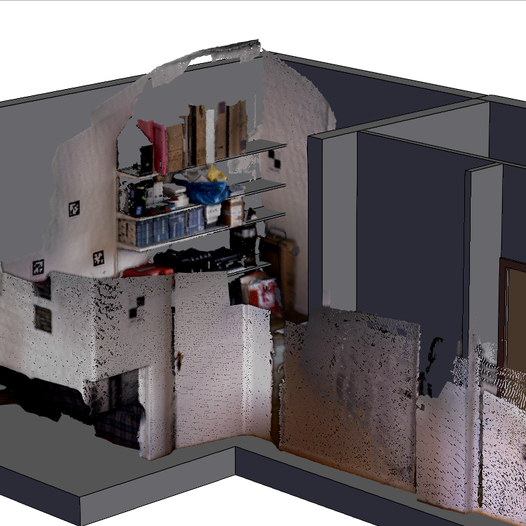Office Scan with point cloud data